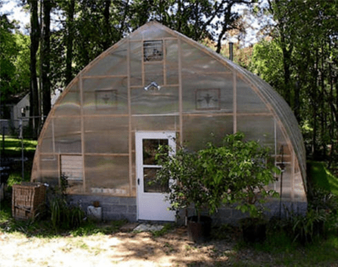 Gothic home garden greenhouse