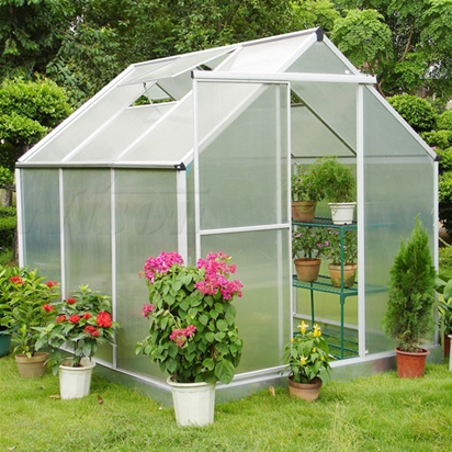 Rigid frame home garden greenhouse