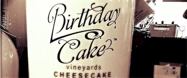 Birthday Cake Vineyards Cheesecake Wine