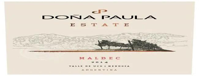 Doña Paula Estate Malbec 2014