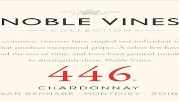 Noble Vines 446 Chardonnay 2016