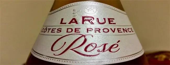 LaRue Cotes de Provence Rosé 2017