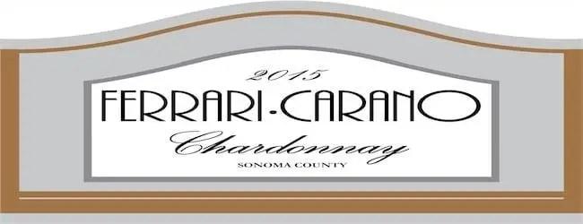 Ferrari-Carano Sonoma County Chardonnay 2015