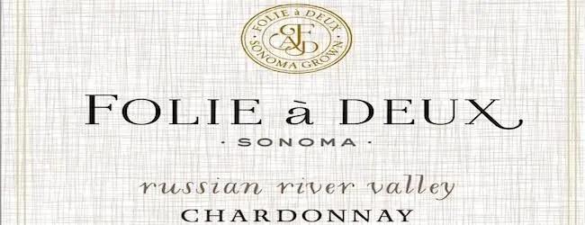 Folie à Deux Russian River Chardonnay Unoaked