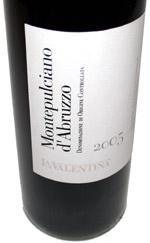 La Valentina Montepulciano d Abruzzo