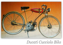 Ducati Cucciolo Bike