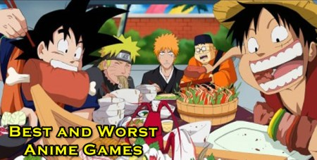 The Best And Worst Anime Games   Cheat Code Central The Best And Worst Anime Games