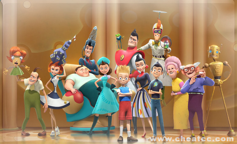Meet The Robinsons Review For The Nintendo Wii