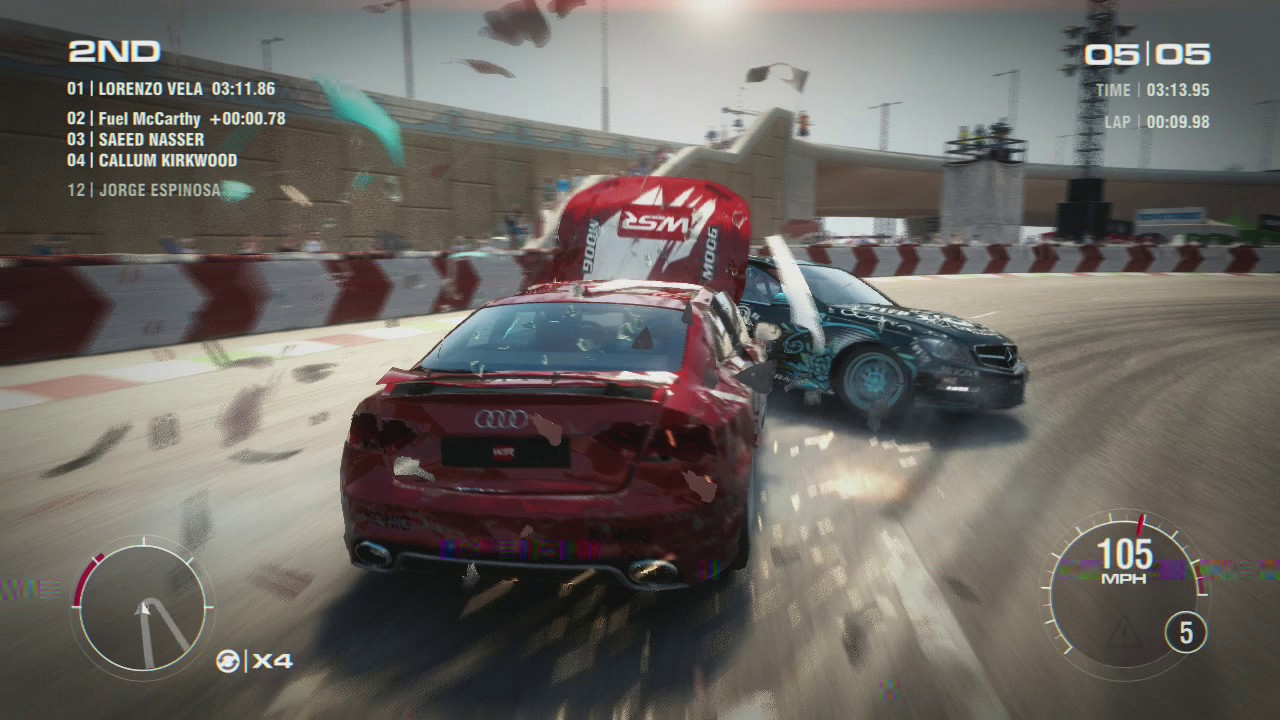 Grid 2 Review For Xbox 360 Cheat Code Central
