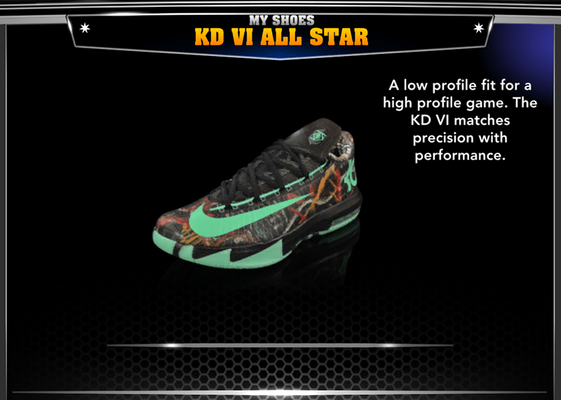 All Star Game Shoes Added To NBA 2K14