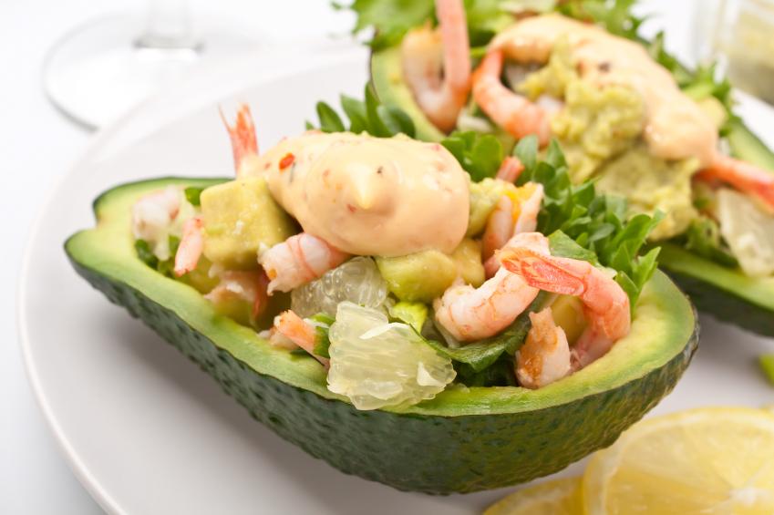 Image result for avocado halves recipes
