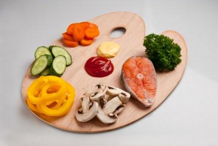 Une alimentation saine est la clé d'une forme physique permanente.