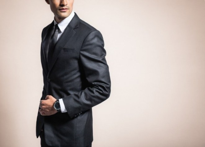 Well dressed man in a suit.