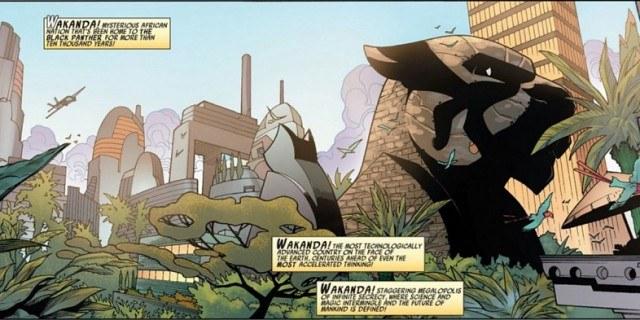 Wakanda - Marvel Comics, Black Panther