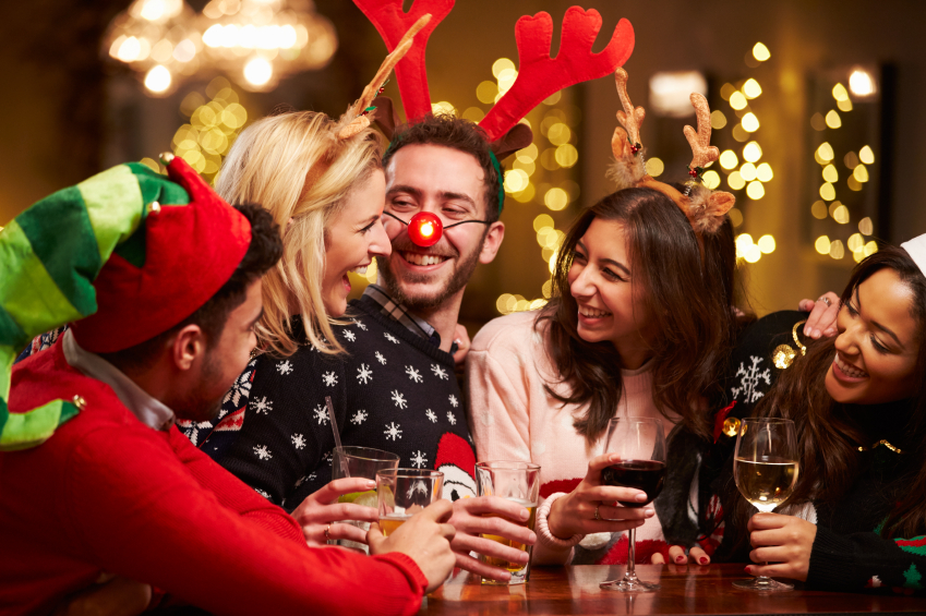 Image result for holiday drinks with friends