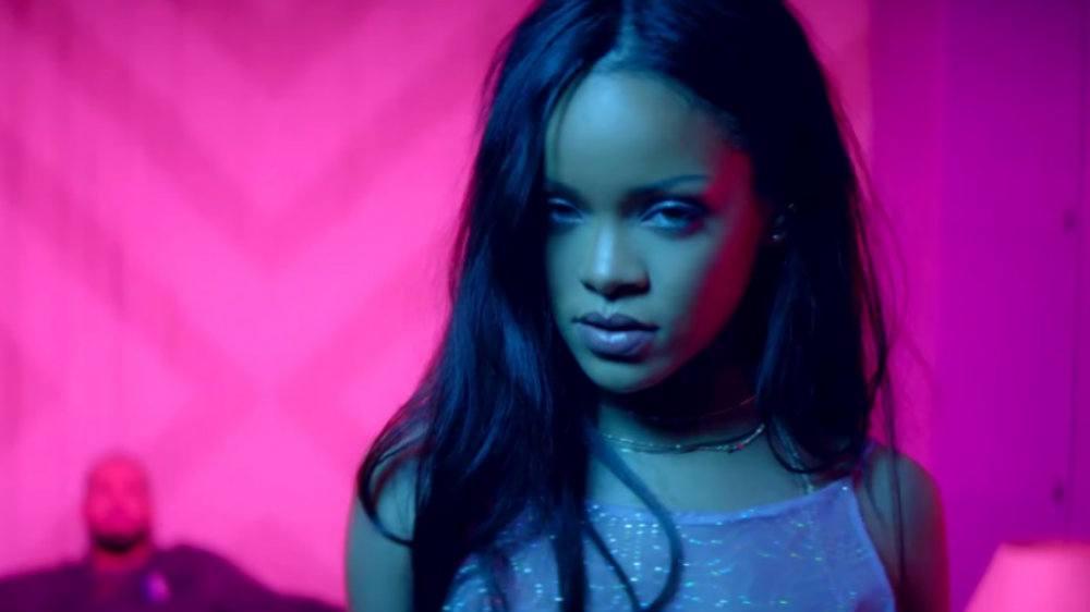 Rihanna In Work
