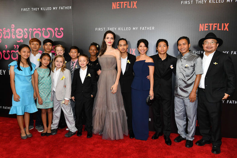 Angelina Jolie And Her Kids Ate At This Surprisingly Low