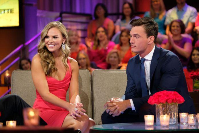 Hannah Brown and Tyler Cameron in 'The Bachelorette'