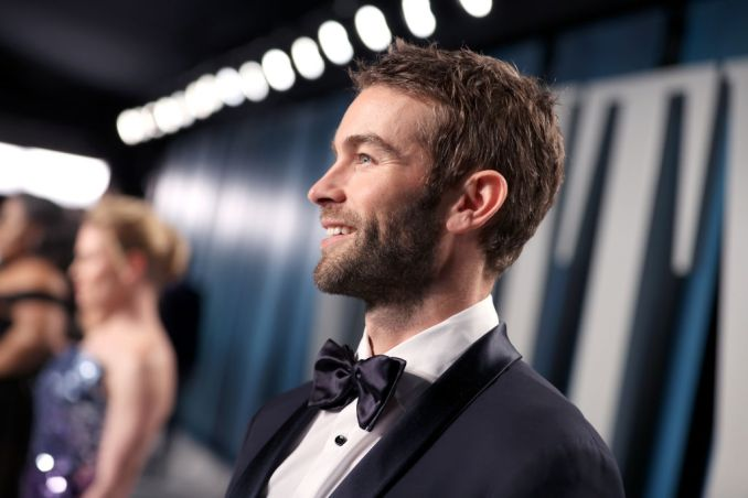 Chace Crawford attends the 2020 Vanity Fair Oscar Party hosted by Radhika Jones at Wallis Annenberg Center for the Performing Arts on February 09, 2020 in Beverly Hills, California.