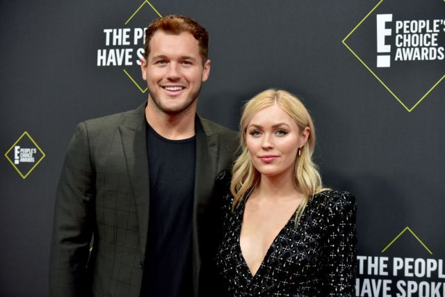 Colton Underwood and Cassie Randolph of The Bachelor
