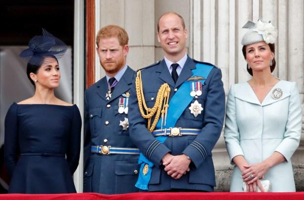 Prince Harry Prince William Meghan Kate