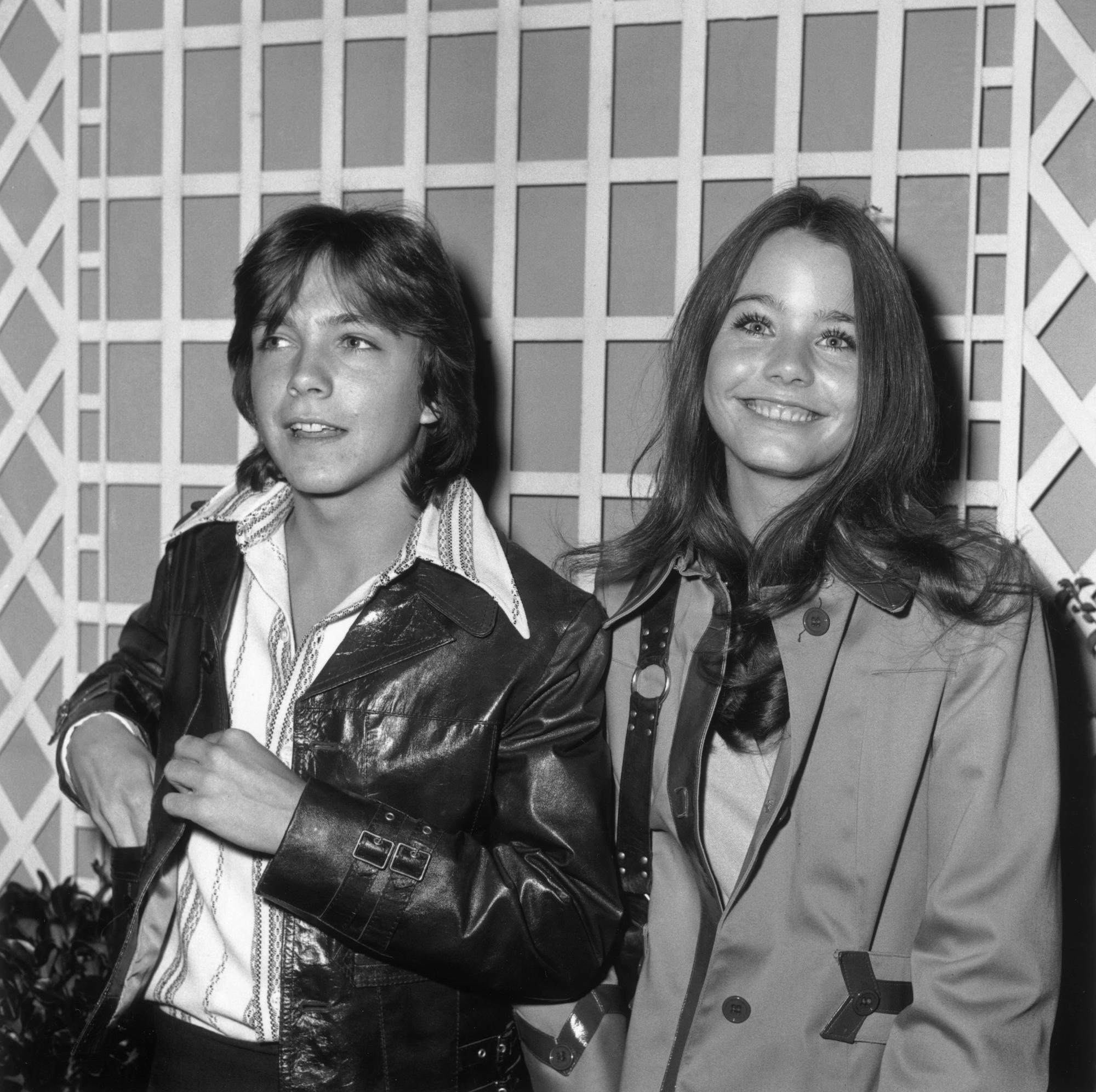 David Cassidy and Susan Dey smiling