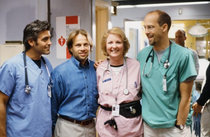 George Clooney as Dr. Doug Ross, James LeGros as Dr.  Max Rosher
