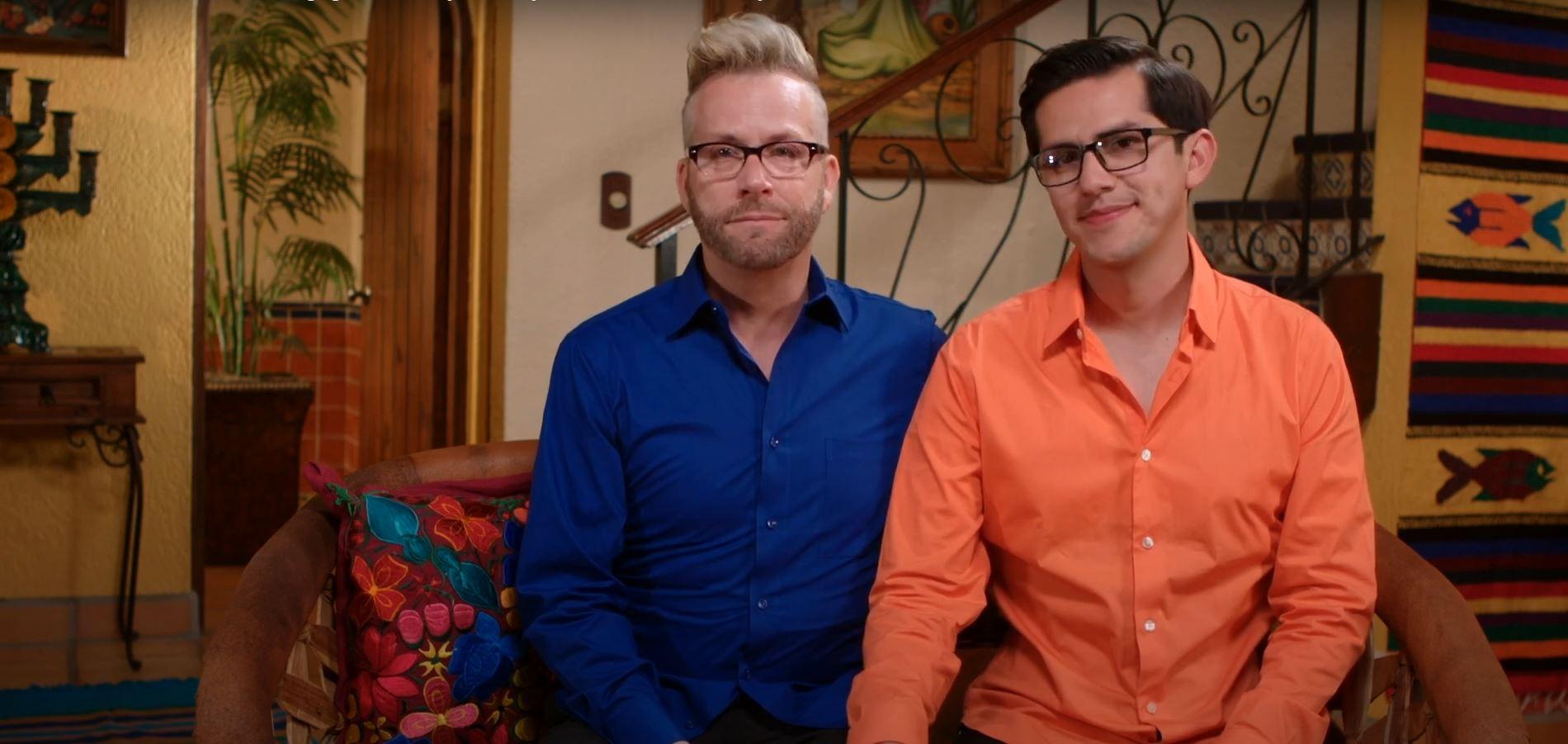 Kenneth and Armando on '90 Fiancé Days'