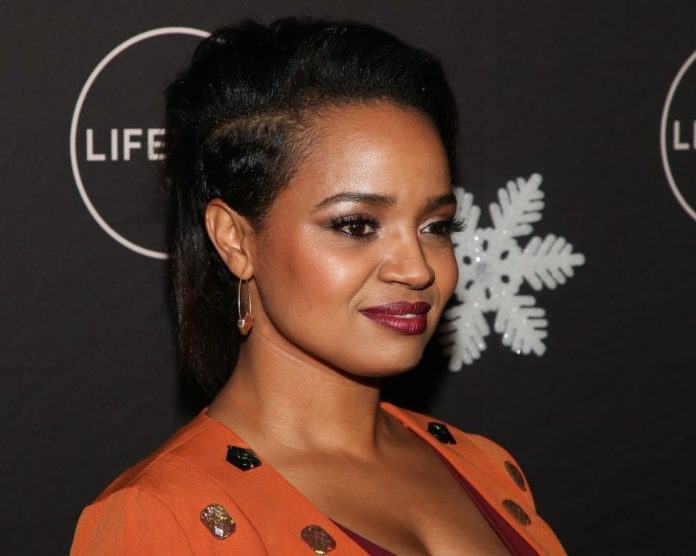 """Kyla Pratt serves the """"It's an amazing life"""" Holiday Party at STK Los Angeles on October 22, 2019 in Los Angeles, California"""