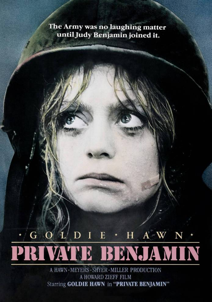 """""""Private Benjamin"""", 1980 American comedy film by Goldie Hawn."""