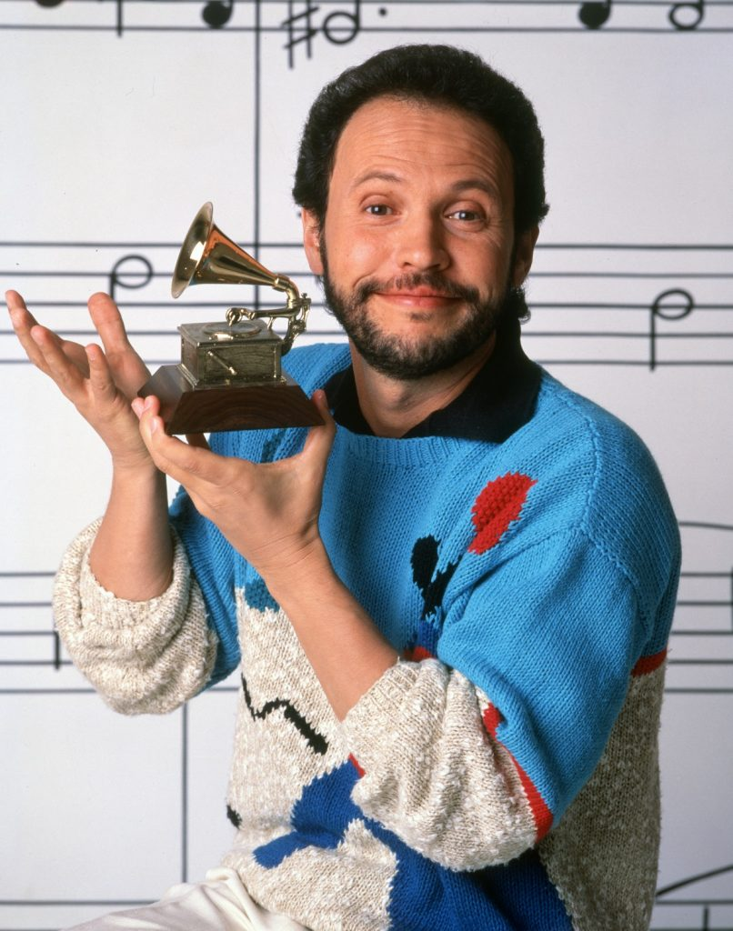Billy Crystal as a guest at the 29th Annual Grammy Awards