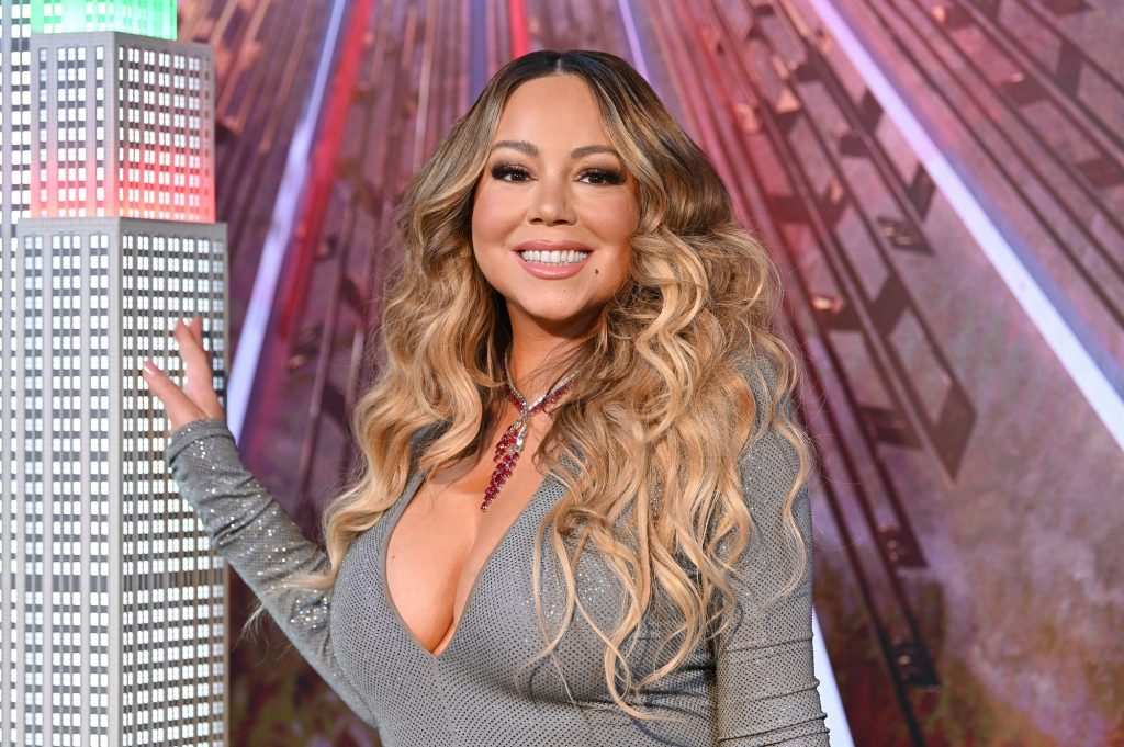 Mariah Carey will be lighting the Empire State Building in celebration of the 25th anniversary of 'All I Want For Christmas Is You' at the Empire State Building on December 17, 2019 in New York City.