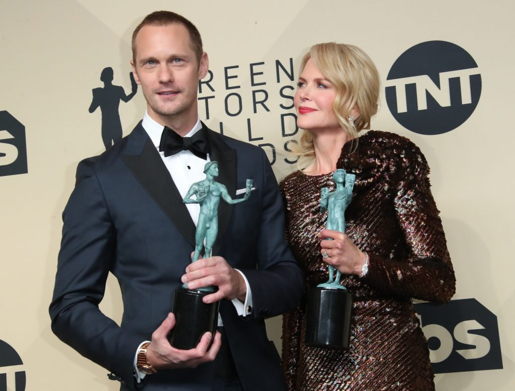 Nicole Kidman and Alexander Skarsgard from 'Big Little Lies'