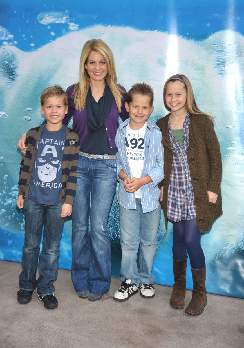 Candace Cameron Bure and her family