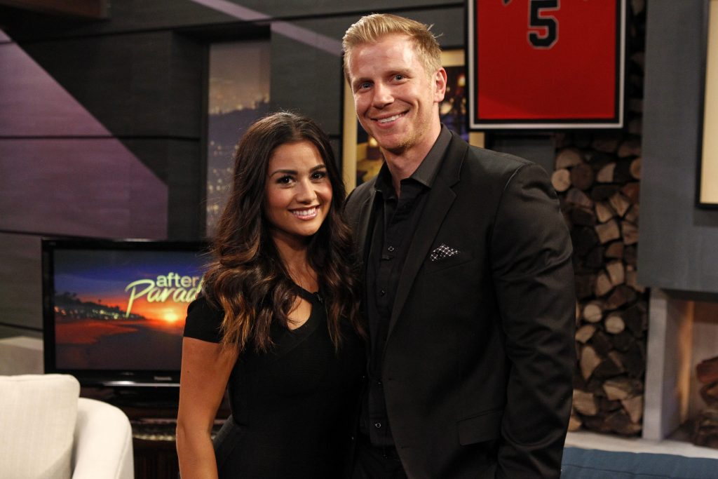 Catherine Giudici Lowe and Sean Lowe  Rick Rowell / Walt Disney TV via Getty Images