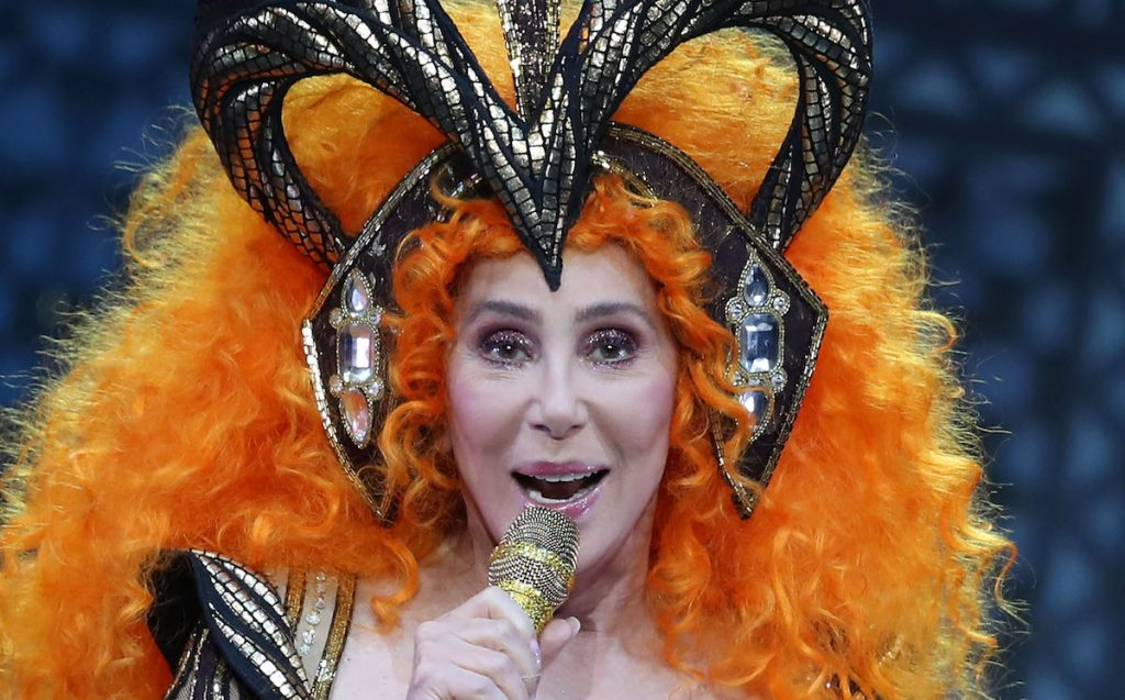 Cher will be playing during her Here We Go Again tour at Rod Laver Arena