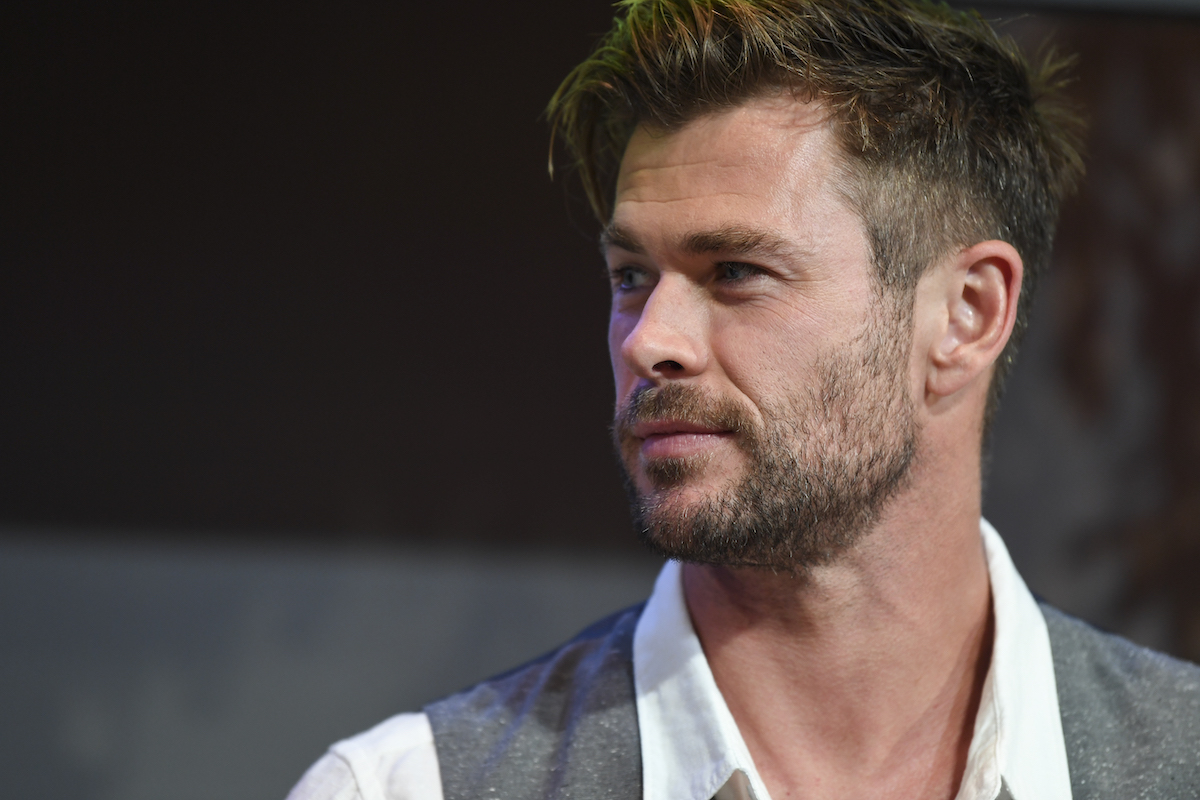 Chris Hemsworth at Sydney Opera House