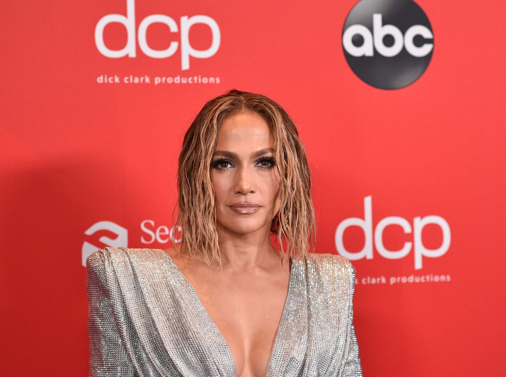 Jennifer Lopez at the 2020 American Music Awards |  ABC via Getty Images