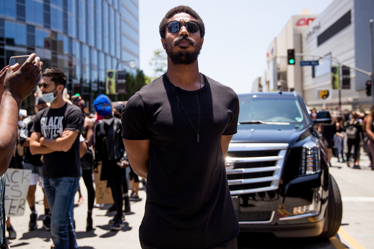 Michael B. Jordan will take part in a Hollywood talent group parade in support of Black Lives Matter protests