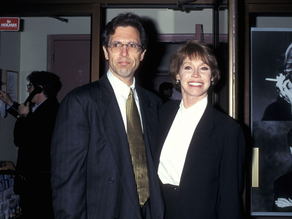 Mary Tyler Moore and her husband Dr. Robert Levine