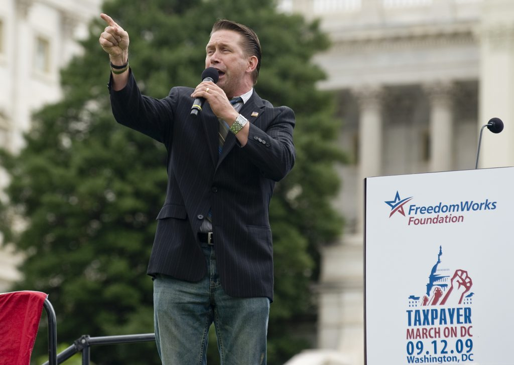 Stephen Baldwin will address the crowd on the Capitol 's West Lawn on September 12, 2009