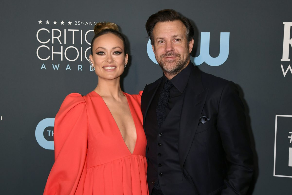 Olivia Wilde (L) and Jason Sudeikis will attend the 25th Annual Critics 'Choice Awards on January 12, 2020 in Santa Monica, California.