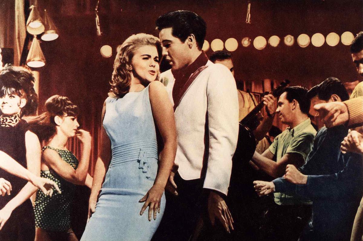 Elvis Presley and Ann-Margret in 'Viva Las Vegas' in 1964