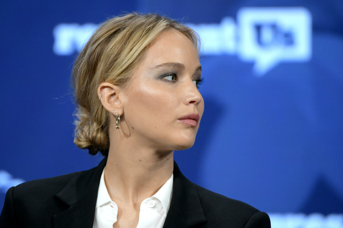 Jennifer Lawrence at the 2018 Concordia Annual Conference