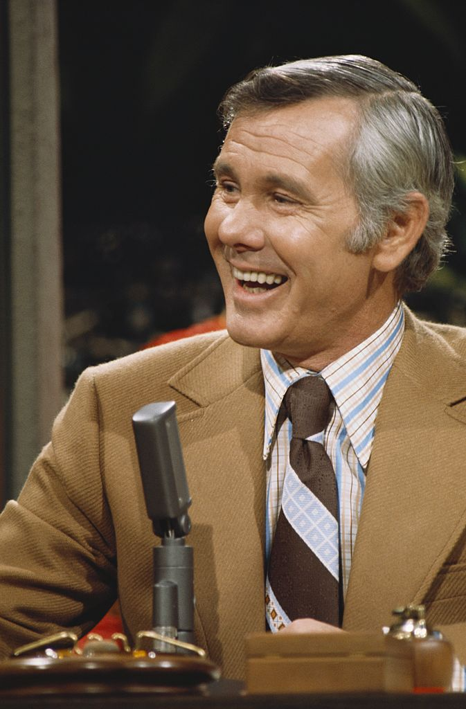 Johnny Carson on The Tonight Show with Johnny Carson