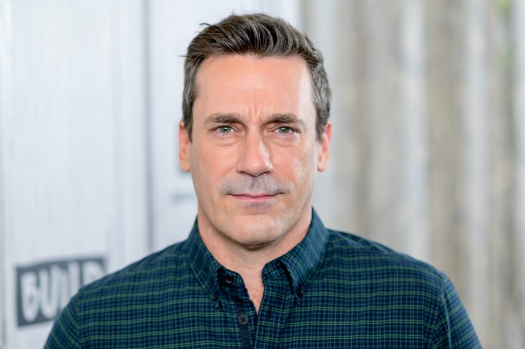 """Jon Hamm discusses """"Lucy in the Sky"""" with the Build Studio Series at October 02, 2019 in New York City."""