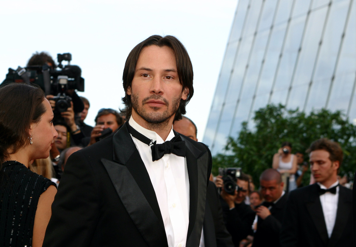 Keanu Reeves at the 2003 Cannes Film Festival