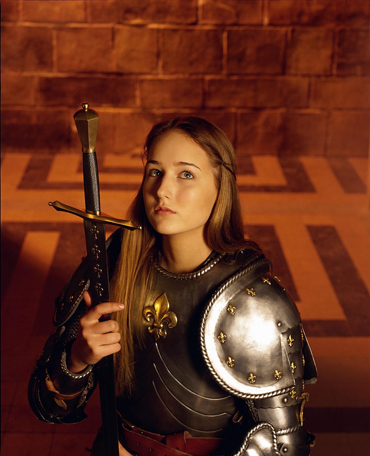 Leelee Sobieski in 'Joan of Arc' in 1999