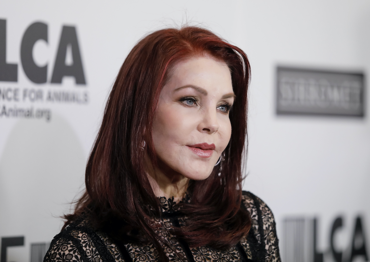 Priscilla Presley at the 35th anniversary gala of the Last Chance for Animals