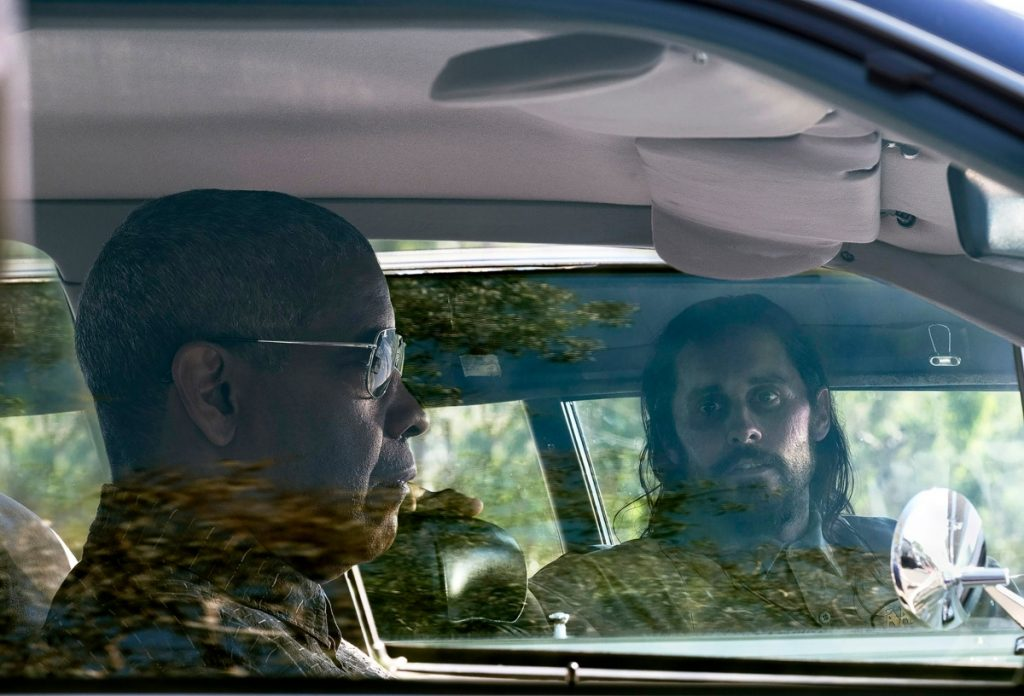 Denzel Washington and Jared Leto in 'The Little Things' on HBO Max